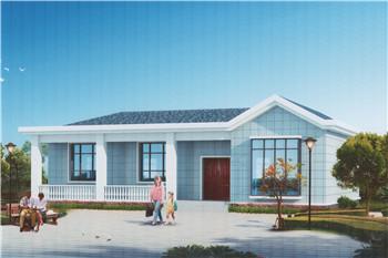 舒适的农村10万元一层小别墅设计图,为父母建一栋养老房吧!