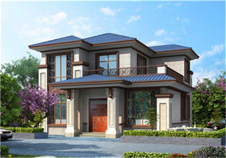农村13万元二层小楼图,外观大气时尚,要建房就千万别错过了