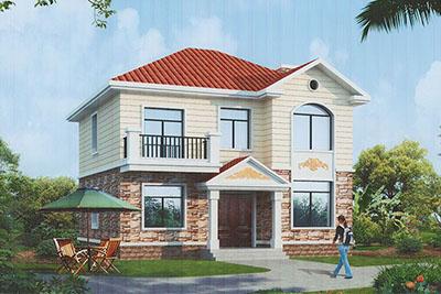 农村15万元二层小楼图,经济、实用的设计