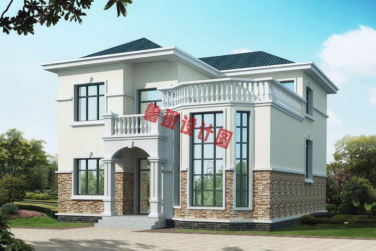 二层复式小别墅设计图