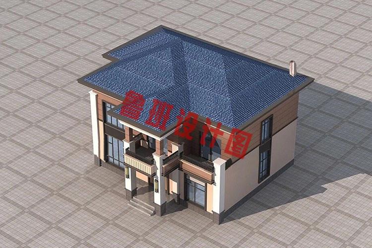 最漂亮的二层房屋效果图