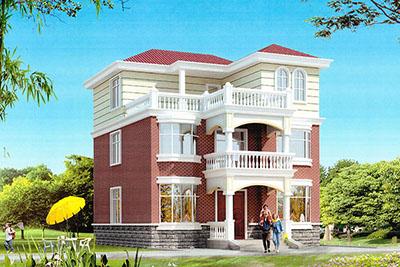 30万以内农村建房三层设计图纸,经济、户型好