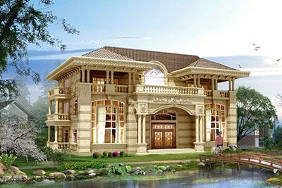 50万左右农村三层别墅设计图,高端、大气、上档次