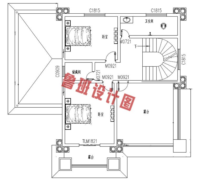 最好看的农村三层楼房设计户型图