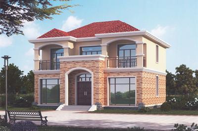 农村20万元二层小楼图,别墅设计精选户型