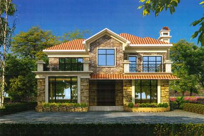 二层别墅图片大全欣赏,美式别墅设计,漂亮、美观