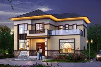 120平方房子设计图,精选别墅设计方案