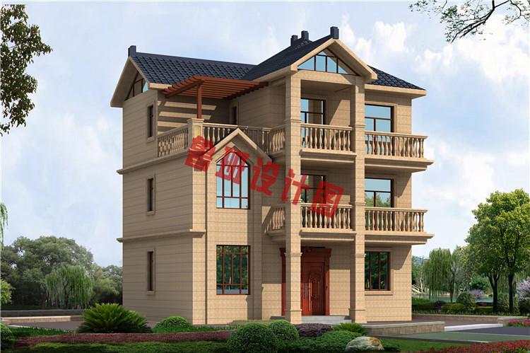 30万别墅款式三层楼房设计图,经典实用户型