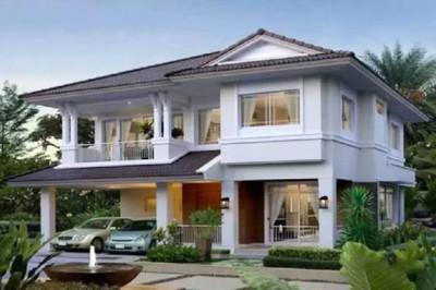 新中式二层别墅房屋设计图,完美的平面布局