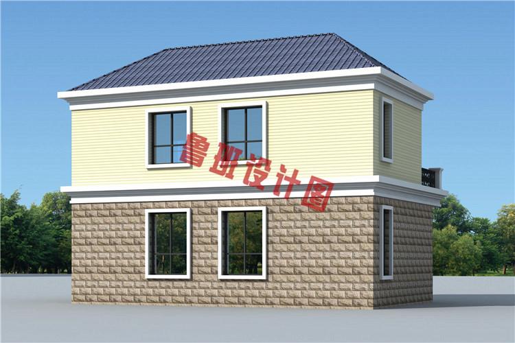 2万自建小别墅设计图,美观实用造价低