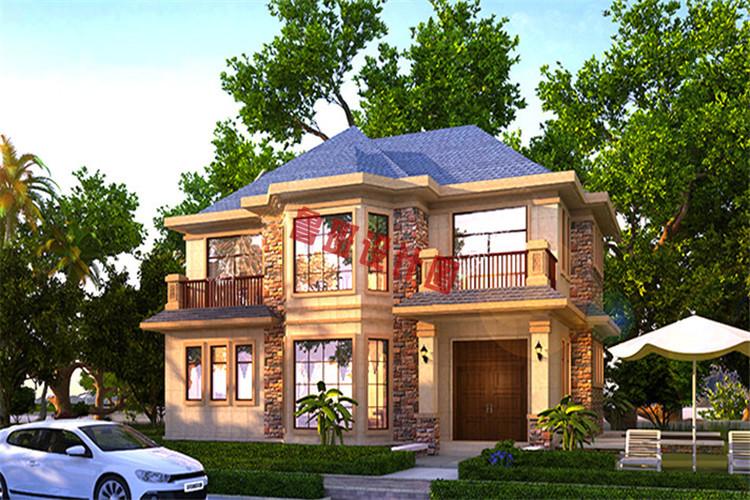 最抢眼的二层别墅设计效果图