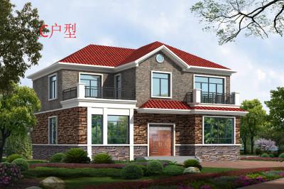 农村25万元二层小楼设计图,适合农村自建