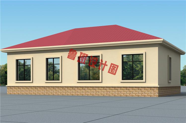 热销一层小别墅设计外观图