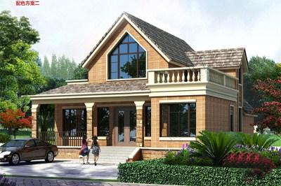 漂亮的一层半楼房别墅图片,附设计图纸