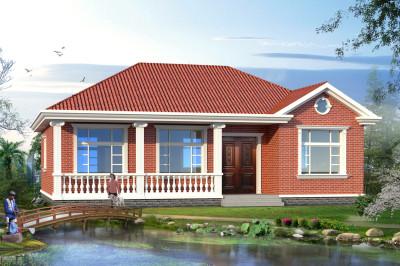 农村6万元一层小别墅图,造型简洁、好看
