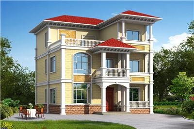 三层120平米农村房屋设计图,要建房的朋友可做参考