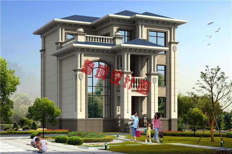 热销款三层别墅推荐房屋设计效果图