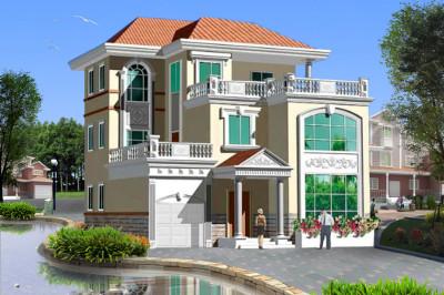 2020三层楼农村别墅设计图,外观时尚,户型经典