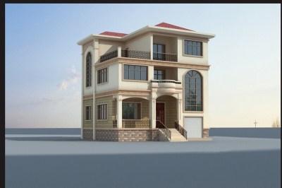带地下室三层小别墅设计图推荐方案,高贵、典雅