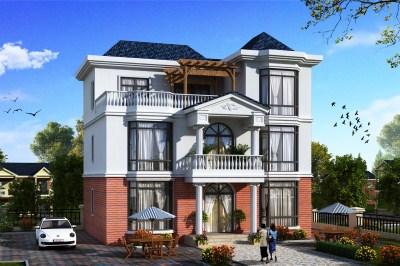 12x10米农村建房图纸,别墅设计户型方案图