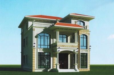 农村自建房120平方设计图三层户型,建出来的效