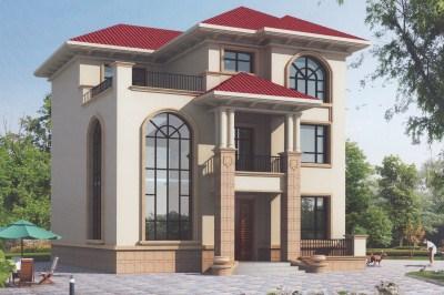 农村120方三层自建房子设计图,让您一见钟情