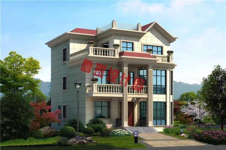 三层复式别墅设计效果图