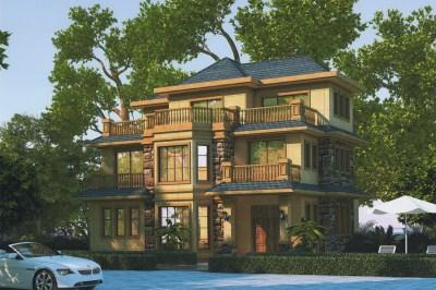 两层半20万农村自建房设计图,只要你想有可能实现。