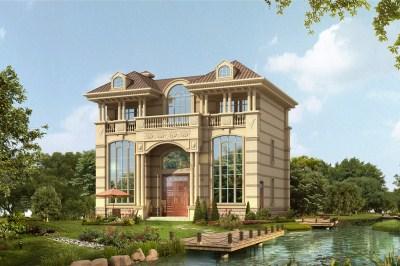 农村30万三层别墅设计图,款式简约大气,气宇非凡。