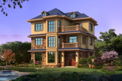 130平农村别墅房屋设计图,户型平面合理,爱美之心人皆有之