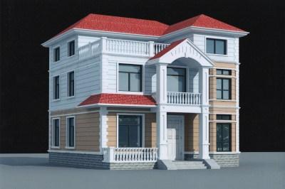 农村三层楼房造价17万到20万,自建别墅推荐户型