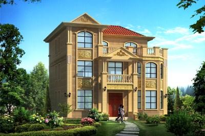 农村别墅三层30万左右户型图,建一栋好房,安一处好家!