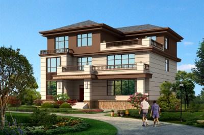 带电梯三层小别墅房屋设计图,越中式,越纯粹!