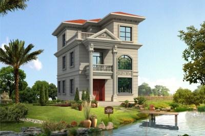 乡村小面积三层自建房屋设计图,让您舒适温馨,忘却烦恼,