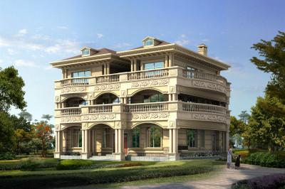 农村80万别墅款式设计图,建一栋富贵逼人