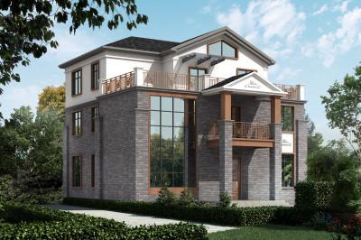 200平复式三层别墅设计图,大气简约而不失美观。
