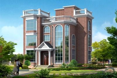 90平方米房别墅设计图,20万以下的三层楼房图推荐