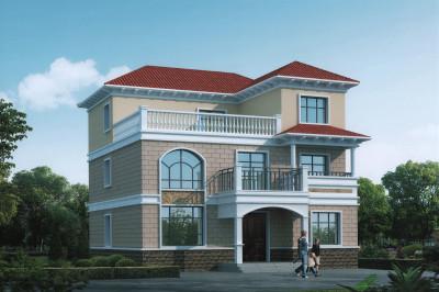 2020年三层独栋小别墅新款设计图,占地150平左右,漂亮又实用