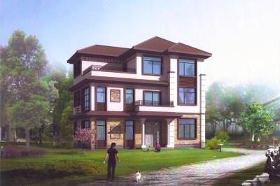 新款中式三层别墅设计效果图,彰显鲜明个性,经久耐看。