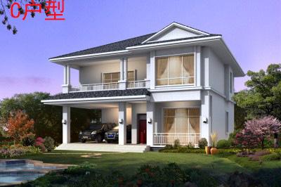 150平农村经典两层别墅设计图,简单漂亮又实用!-普通农村建房设计