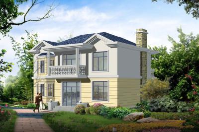二层楼房图片造价10万,二层简单房屋设计图