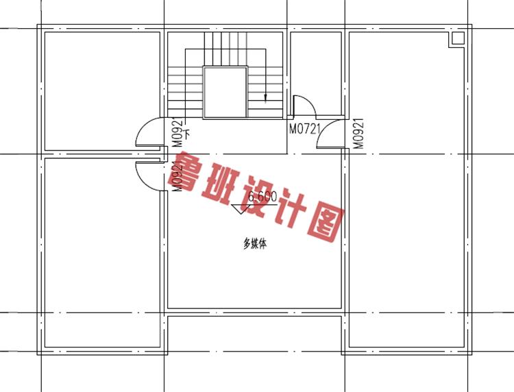 二层欧式别墅设计阁楼户型图