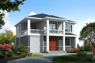 农村三间三层别墅图片及设计图,不玩高大上,只要舒适经济!