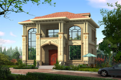100平米别墅设计图二层户型,彰显别墅的雅致与