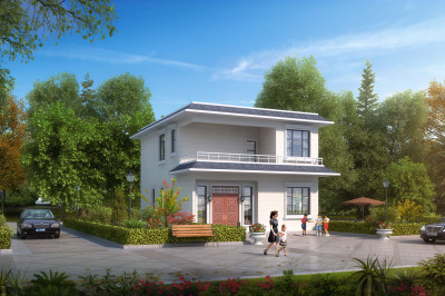 90平米农村小户型别墅设计图,合适自己的才是最好的。