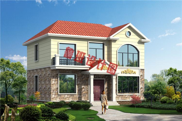 二层别墅设计效果图