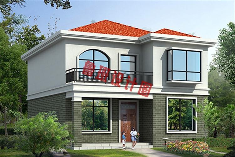 二层农村100平米自建房设计图纸,准备盖房的朋友可以参考