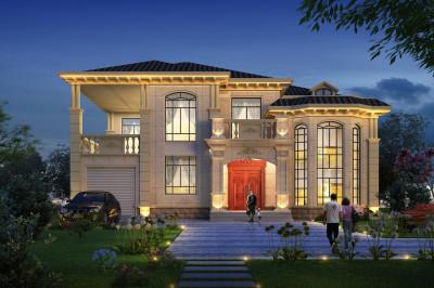 2019二层农村新款别墅设计图,专为农村住房设计。