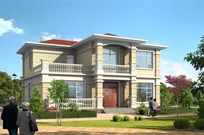 2020新式三间二房别墅设计图,12×11.6米经典户型