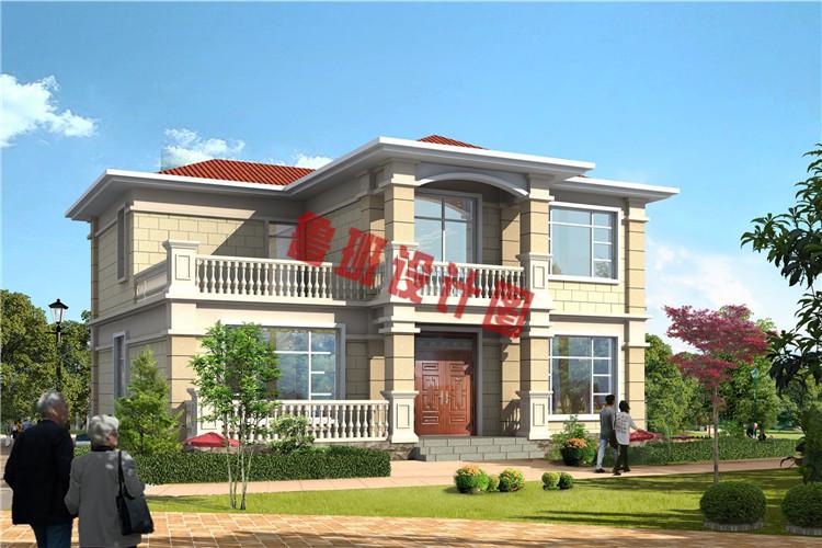 三间二房别墅设计效果图